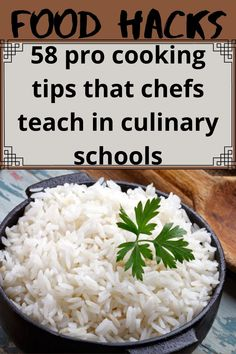 58 pro cooking tips that chefs teach in culinary schools