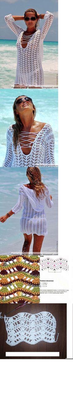 el crochet para la playa