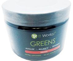 It Works! Greens - Orange Flavor - 120 g