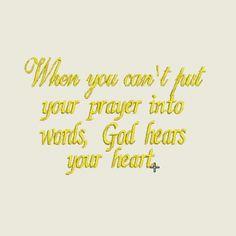 God hears... | Spookies Treasures
