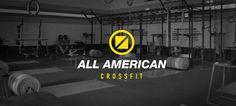 All American Crossfit | Visual Identity by Carlos Ramos, via Behance