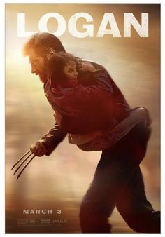 Check out a new Logan poster, featuring stars Hugh Jackman and Dafne Keen. The James Mangold film continues the X-Men universe & hits theaters March 2017 Old Man Wolverine, Wolverine Movie, Patrick Stewart, Logan Movies, Movie Tv, John Wick, Actor Hugh Jackman, Movie Posters, Social Networks