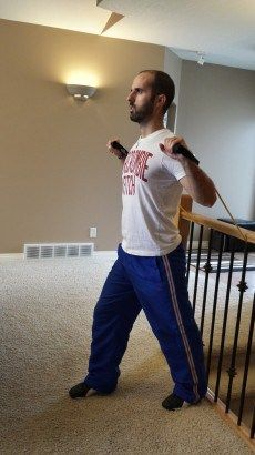 Resistance Band Chest Exercises - Chest Press and Flys