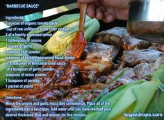 HCG Diet Recipes: Barbecue Sauce   https://hcgezdrops.com/hcg-diet-recipes-barbecue-sauce/