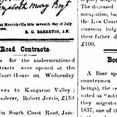 26 Aug 1899 - Road Contracts.