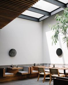 10 Best Places For Design Nerds to Dine in Mexico City - Photo 1 of 10 - Inner courtyard at Pujol.