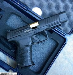 """ARMSLIST - For Sale: Walther PPQ 5"""" (9mm) w/ TiN Coated Barrel"""