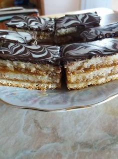 Zserbó - I wanted something sweet, what else could bake like our very favorite! Hungarian Recipes, Recipes From Heaven, Sweet And Salty, Something Sweet, Cakes And More, Christmas Baking, Tiramisu, Recipies, Cooking Recipes