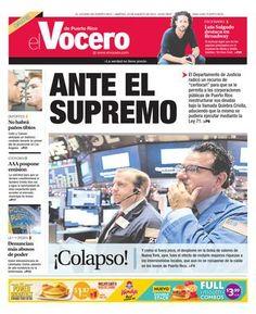 ISSUU - Edición 25 de Agosto 2015 by El Vocero de Puerto Rico