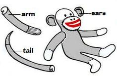 How to make an original Sock monkey