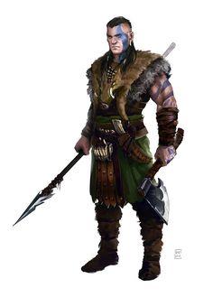 Barbarian nr.2 by Oana-D.deviantart.com on @DeviantArt
