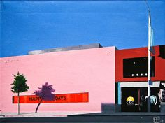 "Saatchi Online Artist John Tierney; Painting, ""Paul Smith Happy Days, LA"" #art"