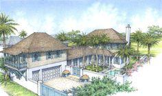 Croom Construction - Plan A - Windsor Vero Beach, Florida Vero Beach, Windsor Florida, Real Estate School, Golf Estate, Fireplace Set, Treasure Coast, Waterfront Property, Seaside Towns, Lake View