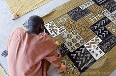 N´Tomo Institute of Bogolan, Segou, Mali, Africa