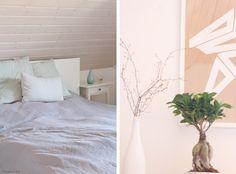Tulpentag: Schlafzimmer. Endlich ein Bett
