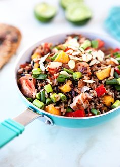 Easy, healthy rice salad with fresh Thai flavors.