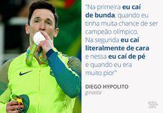 """Do """"caí de bunda"""" ao """"felizão com 6º lugar"""": frases marcantes da Rio 2016…"""
