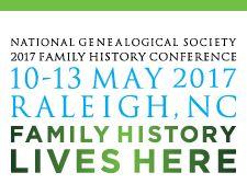 National Genealogy Society 2017