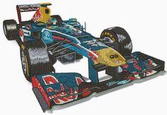 Vette F1 lAuto 2016 gestickt