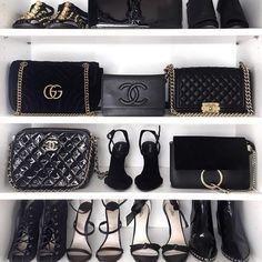 Black white & gold obsession.