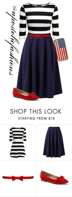 """""""Apostolic Fashions #1374"""" by apostolicfashions ❤ liked on Polyvore featuring H&M, Alice + Olivia, Sole Society, Forever 21, modestlykay and modestlywhit"""