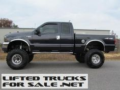 Lifted 1999 Ford F-250 Diesel Super Duty Lariat