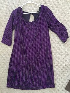 Disco Costume Dress Large | eBay