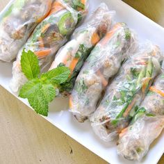 Served cool or at room temperature, summer rolls are a signature dish of Vietnam.