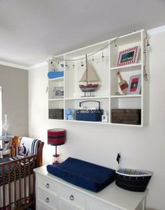 A nod to nautical nursery decor | #BabyCenterBlog #ProjectNursery