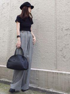 FRAMeWORKのパンツ「T/R ワイドパンツ◆」を使ったari☆のコーディネートです。WEARはモデル・俳優・ショップスタッフなどの着こなしをチェックできるファッションコーディネートサイトです。