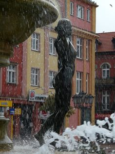 Chojnice - fontanna