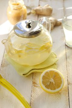 Tisane 100% énergie : gingembre/miel/citron | Ondinecheznanou.blogspot.com