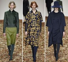 London:A catwalk covered in autumnal leaves told us Jasper Conran was embracing the fall season with open arms. Autumnal hues drifted...