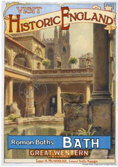 Range of visit historic england heritage railway posters Bath Posters Uk, Train Posters, Railway Posters, School Posters, Movie Posters, Bath Travel, Travel Ads, Train Travel, Vintage Advertising Posters