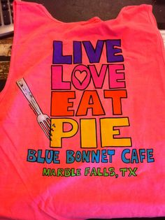 Just outside Austin in Marble falls -- yes, we'll drive 45 minutes to have pie. (Happy hour is M-F, from 3 - 5.) Blue Bonnet Cafe
