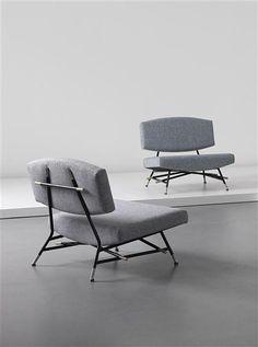 Ico Parisi, #865 Armchairs for Cassina, c1955.
