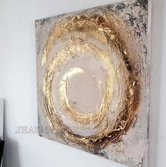 Acrylic painting - JEAN - a design .- Acrylmalerei – JEAN – ein Designerstück von JeanSand… Acrylic Painting – JEAN SANDERS Structure – a unique product by JeanSanders on DaWanda - Diy Canvas Art, Abstract Canvas, Wall Canvas, Painting Abstract, Wall Art, Abstract Portrait, Pour Painting, Gold Leaf Art, Easy Paintings
