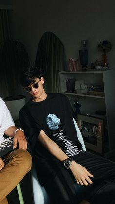 Cute Boys Images, Boy Images, Fake Pictures, Handsome Faces, Thai Drama, All Black Outfit, Ulzzang Boy, Asian Actors, Asian Boys
