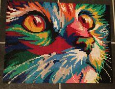 Rainbow Cat 2 Perle Beads (by Susanne Leirånes)