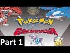 Pokemon Colosseum Pokemon Adventure Let's Play Part 1 - Battle 1