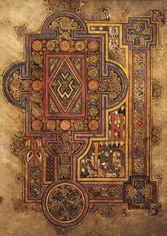 The book of Kells - Leabhar Cheanannais