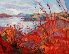 California Hills Paso Robles Impressionist by redrockfineart
