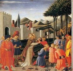 The Story of St. Nicholas: The Liberation of Three Innocents - Fra Angelico