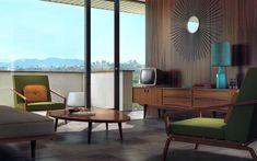60s interior decorating - Hľadať Googlom