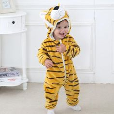 84d65e809593 Cute Animal Baby Toddler Romper Costumes