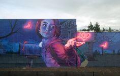 "Bezt and Natalia Rak ""Knocking On Heaven's Door"" for RAD Napa #Arts_and_Culture #iNewsPhoto"