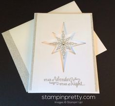 Stampin Up Star of Light Christmas cards ideas - Mary Fish stampinup