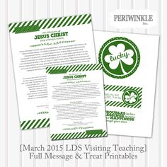 Lucky vs. Blessed: St. Patrick's Day FHE Lesson | LDS Daily