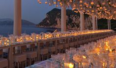 Contemporary styled white wedding in Italy designed by wedding planners in Italy Sugokuii Events