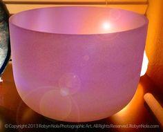 Quartz Crystal Singing Bowl